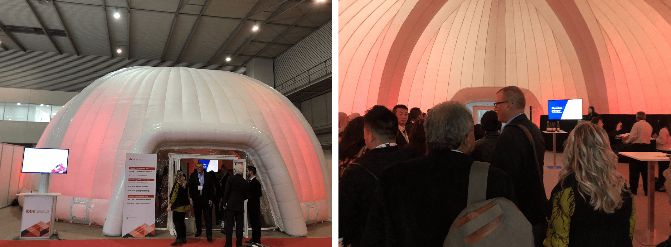 Inflatable Structures - Temporary Exhibition Structures