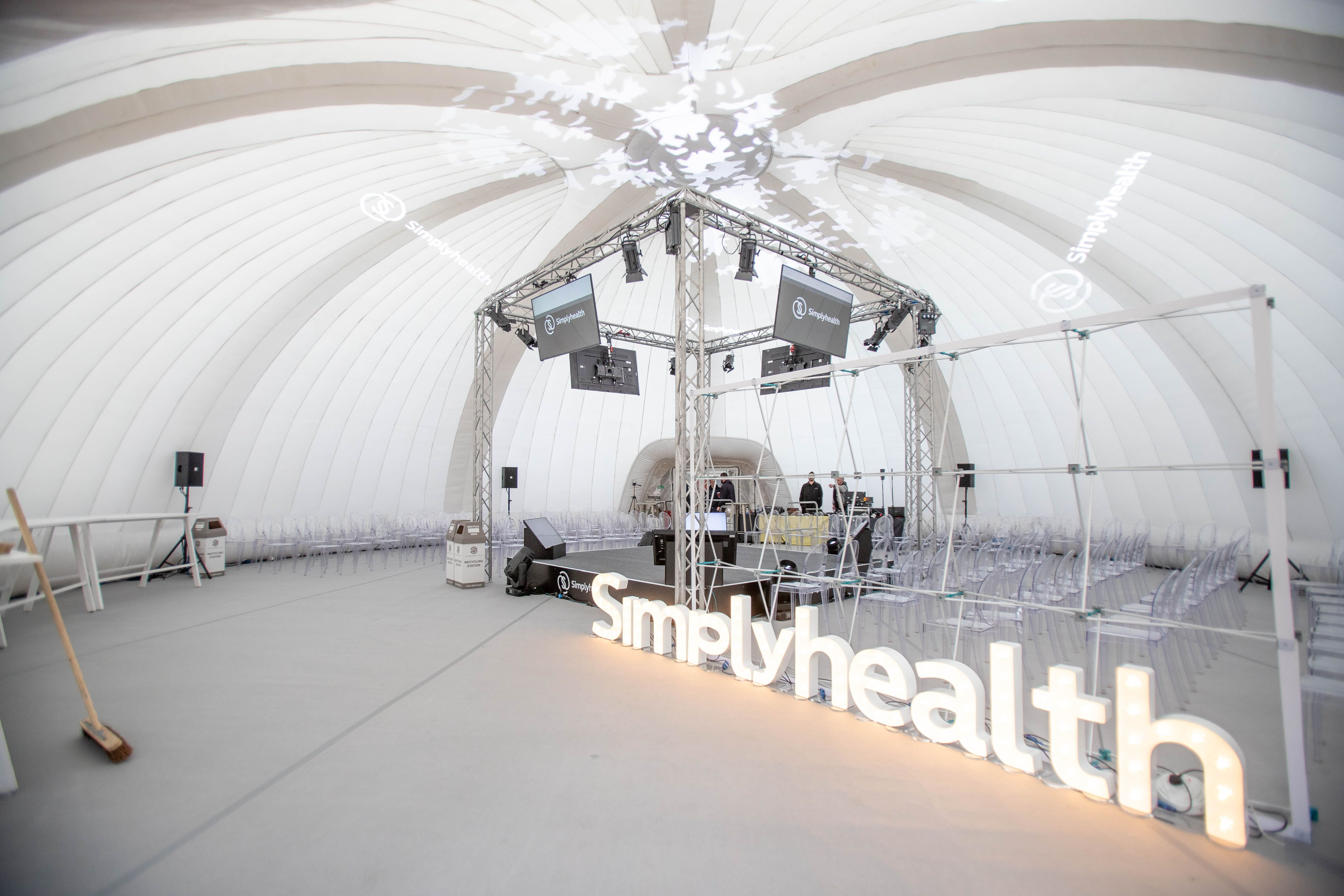 Simply Health Speaking Dome